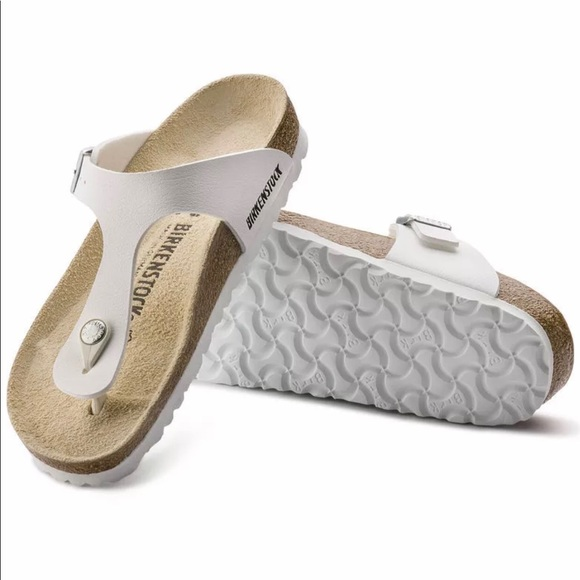 5293487d637 Birkenstock Sandals White Sz 39 US 8 NIB NEW
